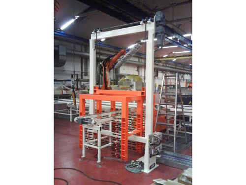 Stacker Cranes / Buffer